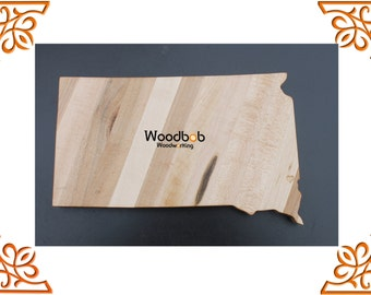 14'' Woodbob.com South Dakota Custom Cutting Boards Cheese Boards