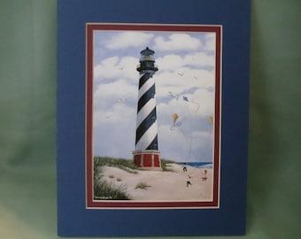"Cape Hatteras Lighthouse 8""x10"" Fine Art Print"