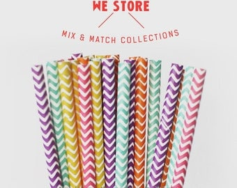 25 PAPER STRAW with free printable DIY Toppers - Happy Moment