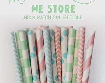 25 PAPER STRAW with free printable DIY Toppers - My Lovely Baby