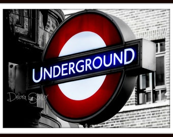 London Underground   Fine Art Print