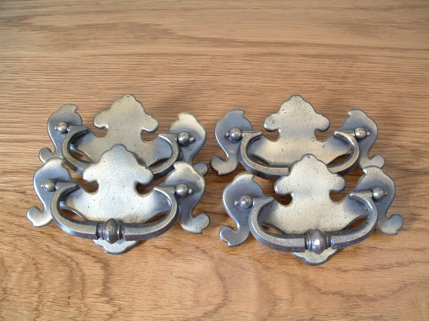 vintage antique brass finish drawer pulls lot of by thefrabjousday