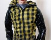 70cm or Super Gem BJD Boy Ombre Plaid Jacket