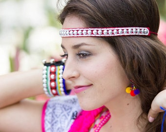 Akha Headband /Hippie /Boho (Free Shipping With Another Items) /Wholesale