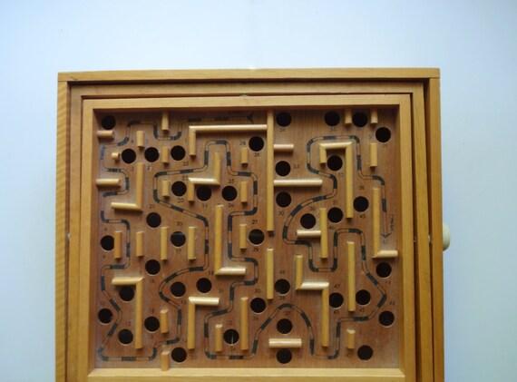 Vintage Wooden Game 36