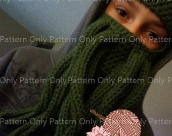 Cthulhu Mask Pattern - Pattern Only