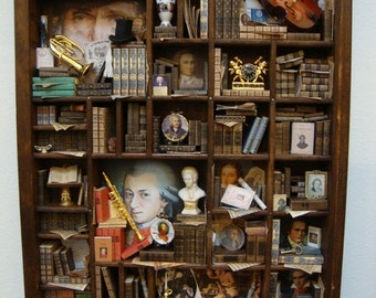"""Miniature minilibrary  thematic """"Classical Music"""""""