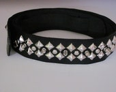 Custom leather guitar straps, guitar strap,leather guitar strap, studded leather guitar strap, studded leather. music gifts