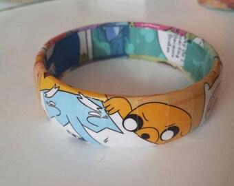 Adventure Time Comic Book Bracelet
