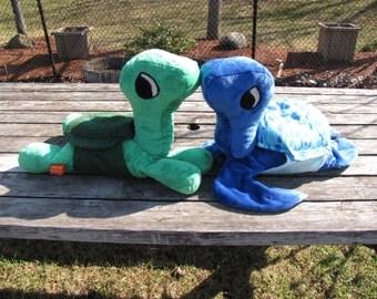 Plush Turtle or Tortoise Pattern - OPTIONAL HEATING PAD - Instant Digital Download