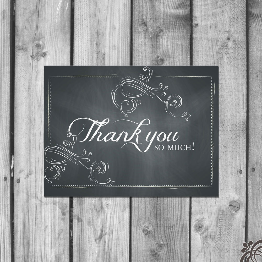 chalkboard thank you cards e10261624442207232m 15 00