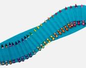 Kids Crayon Bandolier | Aquamarine