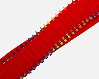 Kids Crayon Bandolier | Red