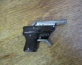 Swallow Cap pistol. Tin Toy Cap Pistol. Made in Japan Gun. Vintage  toy gun.