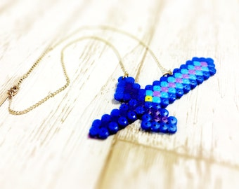 Legend of Zelda Master Sword necklace