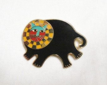 Laurel Burch BARTHOLOMEW Pendant Brooch - Collectible - Retired Design - Discontinued Jewelry Line