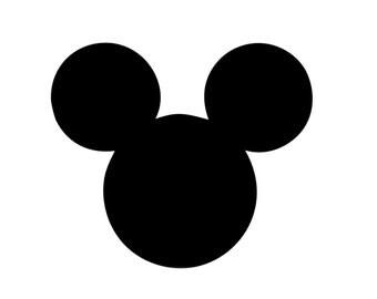 Mickey Mouse Nail Art Vinyl Decal