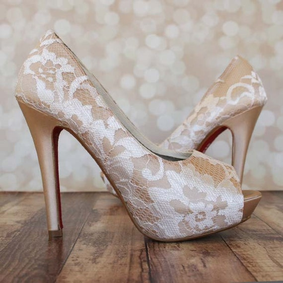 champagne color wedding shoes champagne wedding shoes lace wedding shoes wedding shoes 2539