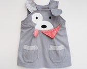 Puppy Dog Girls dress