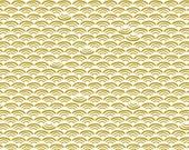 Cloud9 Organic Fabrics - Koi - Smile and Wave Reed 1/2 YD