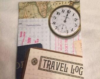 Travel Log World Map