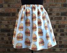 Kawaii Hamburger Skirt