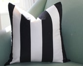 Stripped Cushion Pillow Cover 20 Inch