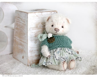 Pocket size Teddy Mini bear 6 inch 15 cm
