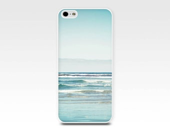 nautical iphone 6 case beach iphone case 5s ocean iphone case 4s waves iphone case 5 photography iphone case 4 blue pastel waves art iphone