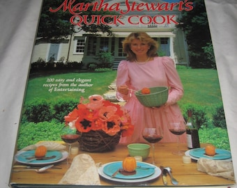 Martha Stewart's Quick Cook Cookbook 1983