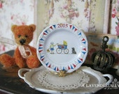 Milly 2015 Royal Baby Plate for Dollhouse