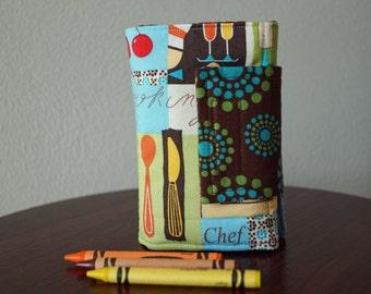 Crayon Organizer - Kids Crayon Holder - Food & Cooking - Gift for Kids