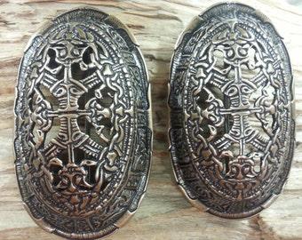 Viking era Oval brooch (V2) set of 2