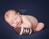 Newborn Boy Mini Football Prop - Made to Order