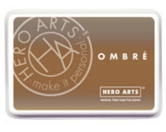 sale Hero Arts Ombre Light to Dark Brown Ink Af311