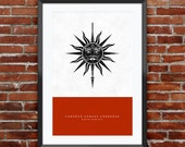 """Game of Thrones - House Martell print 11X17"""""""