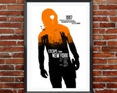"""Escape From New York Movie Poster 12X18"""""""