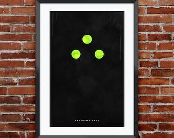 """Splinter Cell inspired print 11X17"""""""
