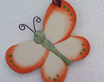 Butterfly Ornament/Party Favor/Gift Tag  -- OB9