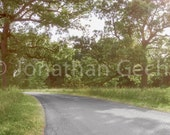 Down the Road -- Panoramic Photo Print
