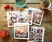 5ftinf Cards Featuring 'The Table' ( Pack of 5 )