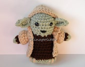 Star Wars Inspired Amigurumi Doll - Yoda - MADE TO ORDER