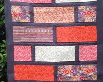 Modern Patchwork Lap Quilt