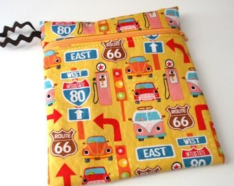 NEW Mini style Wet bag: Route 66 VW Zoom
