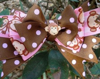 Monkey boutique bow