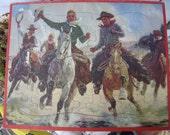 Western Cowboy Puzzle by Jaymar Tray Puzzle