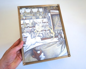 Vintage 8x10 Picture Frame 8 x 10 - Gold Embossed Metal Picture Frame - Vintage Picture Frames