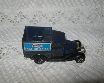 Matchbox 1979 Rice Krispies Advertising Model A Ford Truck