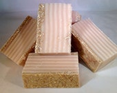 2 Bars Noopys OATMEAL w/GOAT MILK & Emollients-Big 6 oz Soaps-Softens Skin-Natural Hand Crafted