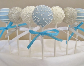 Cake Pops: Winter Onederland Birthday, Cake Pops Made to Order with High Quality Ingredients